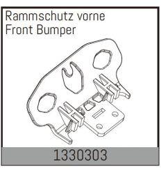 Bumper avant Absima ( 1330303 )