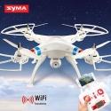 Syma X8W vidéo en direct. Drone FPV