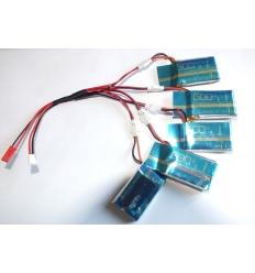 Chargeur multiple pour batterie de drone JD385 Hubsan X4 YD928