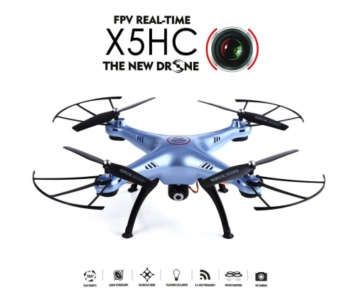 Drone Syma X5HC, caméra HD 720p