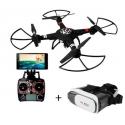 Drone WLtoys Q303 avec caméra wifi et masque de réalité virtuelle