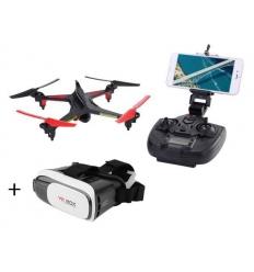 XK X250 avec caméra Wifi et masque de réalité virtuelle