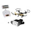 Drone SKYTECH TK107 FPV et masque de réalité virtuelle