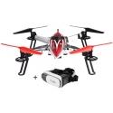 Drone FPV WLtoys Q212KN avec masque de réalité virtuelle