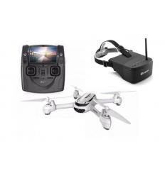 Hubsan X4 H502S + Masque FPV EV800