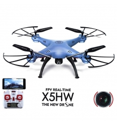 Syma X5HW bleu + 2 batteries 800 + masque
