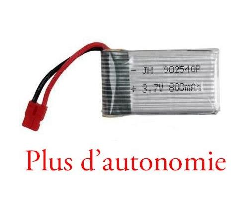 Batterie pour drone Syma X5HC, X5HW 800 mah