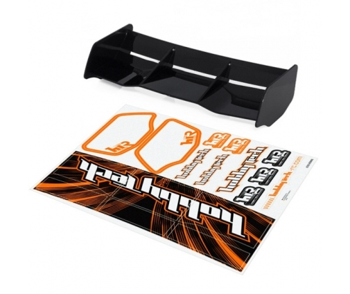 Aileron buggy Noir 1/8 Racing HTR buggy 1/8 Racing + stickers