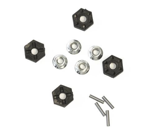 Hexagone 12mm + ecrou de roue MT12 - DT12