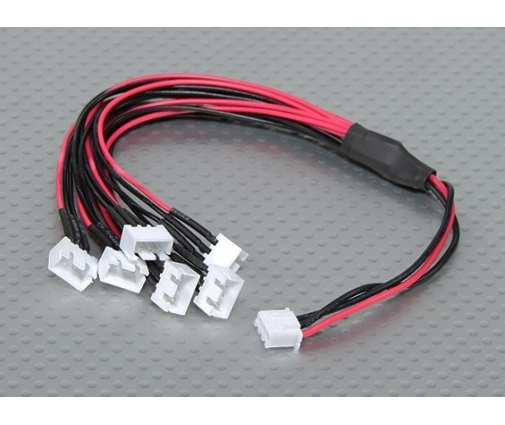 Câble de chargement 6 batteries 7,4V