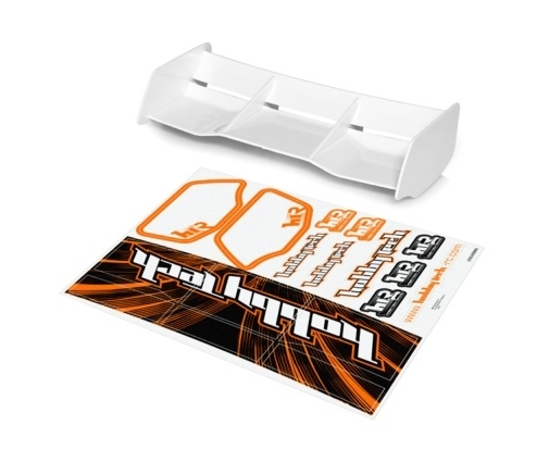 Aileron buggy Blanc 1/8 Racing HTR + stickers