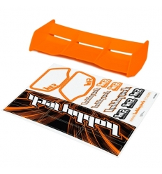 Aileron buggy orange 1/8 Racing HTR + stickers