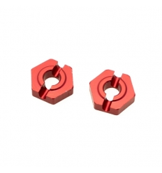 Héxagones de roue avant alu (REV-BX014)