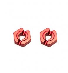 Hexagones de roue arrière alu (REV-BX015)