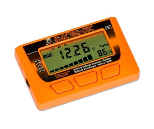 Testeur de batterie Lipo de 2S - 6S