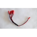 Cable multi batteries prise JST drone V959 V222 V929 V212 V636