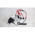 Chargeur multi batteries drone V959 V222 V929 V212