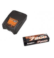 Pack Multipeak + Lipo 2s 7200 mAh