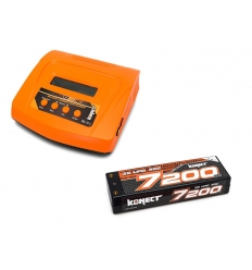 Pack Multi80RS + Lipo 2s 7200 mAh