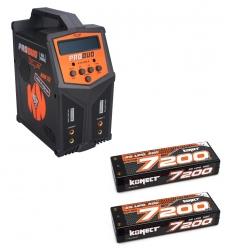 Pack Produo + 2 x Lipo 2s 7200 mAh