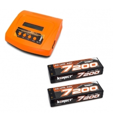 Pack Multi80RS + 2 Lipo 2s 7200 mAh