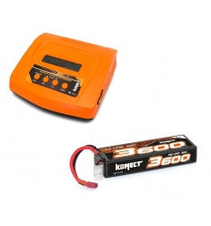 Pack Multi80RS + Lipo 3s 3600 mAh