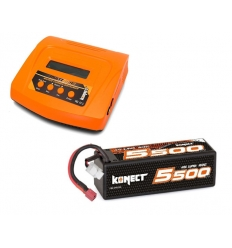 Pack Multi80RS + Lipo 4s 5500 mAh