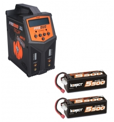 Pack Produo + 2 x Lipo 4s 5500 mAh