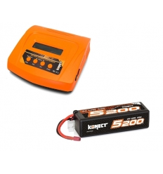 Pack Multi80RS + Lipo 3s 5200 mAh