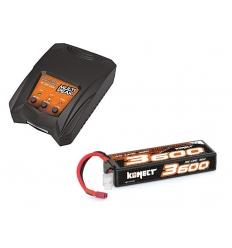 Pack Multipeak + Lipo 3s 3600 mAh