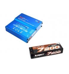 Pack Imax + Lipo 2s 7200 mAh