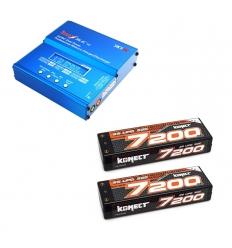 Pack Imax + 2 Lipo 2s 7200 mAh