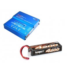 Pack Imax + Lipo 3s 4200 mAh