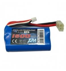 Batterie Li Ion 1500 mAh avec connecteur Tamiya