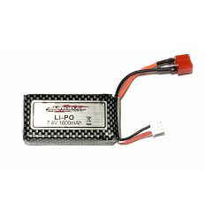 Batterie Lipo 2s 7.4V 1600Mah MT-Twin