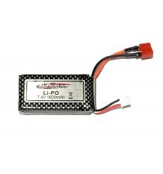 Batterie Lipo 2s 7.4V 1600Mah MT-Twin
