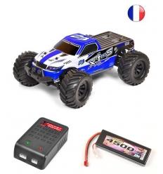 T2M Pirate XTS + Chargeur + Lipo 2s 4500 mAh
