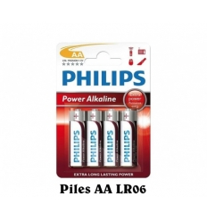 Piles Power Alkaline Philipps AA