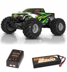 Pack Funtek Furio V2 + Batterie Lipo 2200 + chargeur