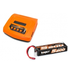 Pack Multi80RS + Lipo 2s 5200 mAh