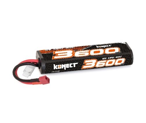 Batterie Konect 2s 7.4V 3600Mah