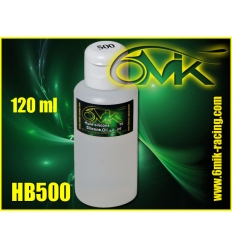 Huile silicone amortisseur 500 cps 6mik (120ml)