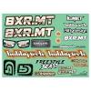 Planche de stickers Hobbytech BXR.MT