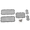 Grilles de protection fenetres en métal TRX4