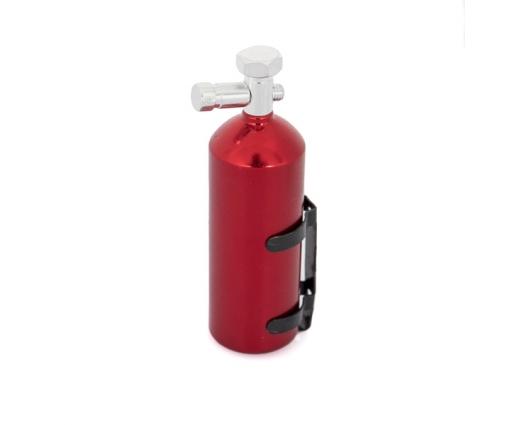 Bombonne en alu rouge avec système d'accroche pour Crawler & Scale