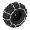 Paire de chaines pour des pneus de diametre 120mm
