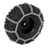 Paire de chaines pour des pneus de diametre 108mm