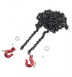 Chaine de remorquage avec crochets pour Crawler ou Scale