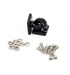 Crochets de remorquage avec anneaux de sécurités pour Crawler