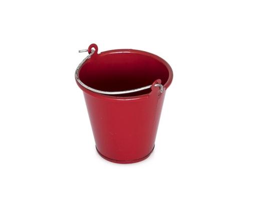 Sceau en métal rouge pour Crawler & Scale